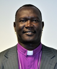 Photo/Lucy Chumbley  Bishop Andudu Adam Elnail of the Diocese of Kadugli in Southern Kordofan, Sudan.